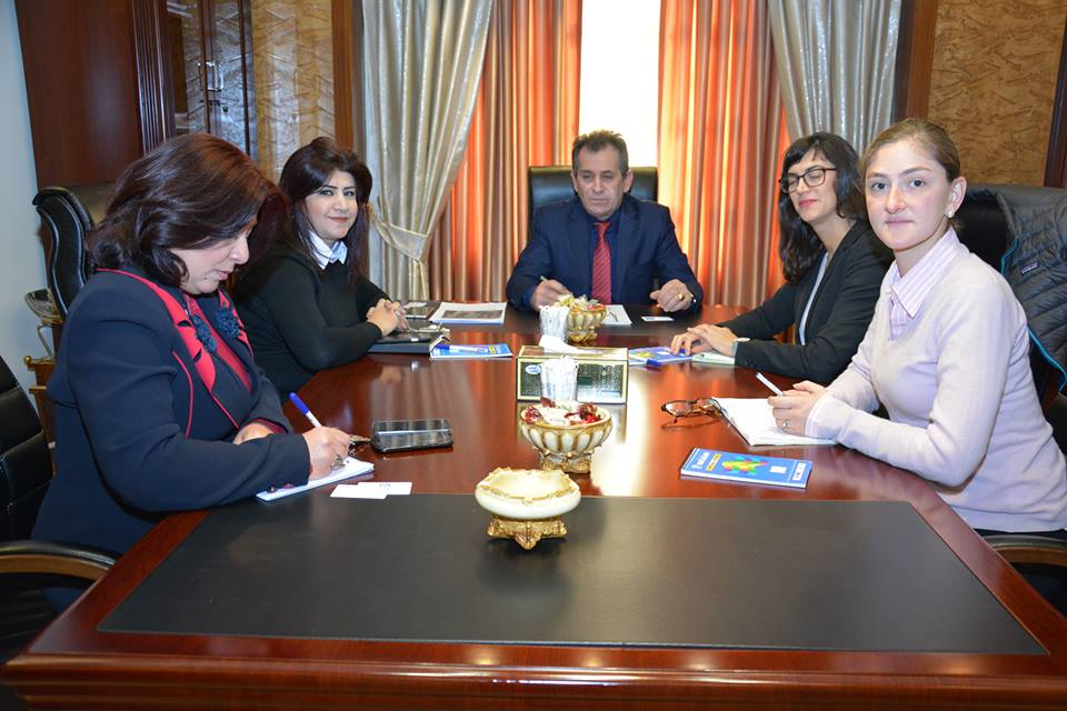 Joint Cooperation and Coordination between Kurdistan Human rights commission and Human Rights Watch Organization to visit prisons and Detention centers The president of Kurdistan human right commission