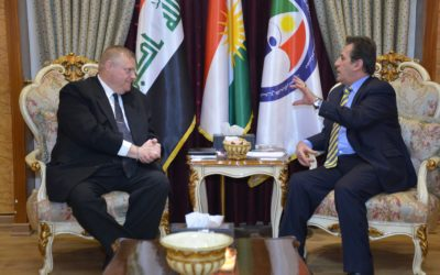 Kurdistan Human Right Commission and Canadian Counselor Office discuss Human Rights Cases