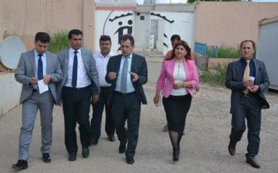 رئيس الهيئة يزور اصلاحية النساء والاحداث في دهوك للاطلاع على اوضاع السجناء
