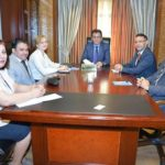 """In a meeting with UNOPS, President of Kurdistan Human Right states"""" It is important to held training for police officers on how to combat using and trading drugs"""