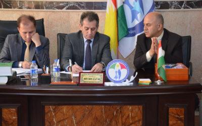 رئيس الهيئة في زاخو: زاخو منطقة استراتيجية حدودية مهمة لذا يجب الاهتمام بها أكثر