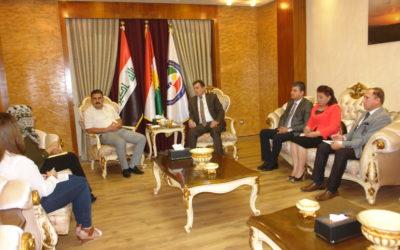 رئيس الهيئة: مرضى الاوتيزم يحتاجون عناية خاصة وهذا المرض اكتشف حديثا في اقليم كوردستان لذا يجب أن نوليه أهتمام أكثر