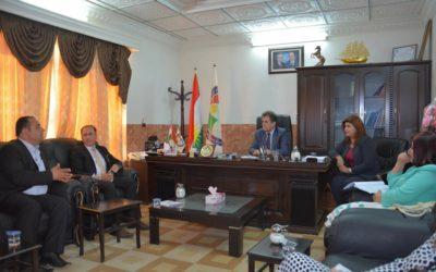 رئيس الهيئة في مدينة كوي:المدينة تحتاج الى اهتمام اكثر ونحن في الهيئة سنوصل مطالب المواطنين للجهات المعنية