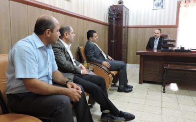 لێژنهیهکی نوسینگهی مافی مرۆڤی سۆران سهردانی دادگای بهرایی سۆران و فهرمانگهی داواکاری گشتی سۆرانی کرد