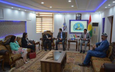 رئيس الهيئة يؤكد على ضرورة احترام قدسية جميع الاديان في أقليم كوردستان.