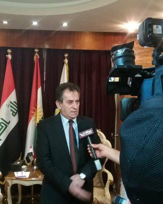 ابناء الاقلية الايزيدية يستحقون الكوتا في برلمان الاقليم القادم.