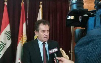 رئيس الهيئة المستقلة لحقوق الإنسان يدلي بتصريح لقناة الحرة حول الانتهاكات في انتخابات مجلس النواب العراقي.
