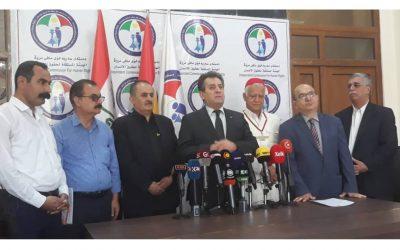 الهيئة المسقلة لحقوق الانسان تستقبل شبكة مكونات كوردستان وتدعم مطاليبهم.