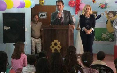 مشاركتنا في احتفالية خاصة اقيمت بمناسبة يوم الطفل العالمي في اربيل يوم ٢٧ حزيران ٢٠١٨