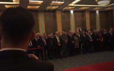 مشاركة رئيس الهيئة اليوم ٢٩/١١/٢٠١٨ في فندق روتانا باربيل باحتفال الذي اقامته القنصلية الفلسطينية في الاقليم بمناسبة اليوم العالمي للتضامن مع الشعب الفلسطيني.